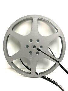 "Eastman Kodak Silver 7"" Metal Movie Film Reel 8mm Sturdy Kodascope Rare"