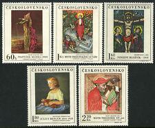 Czechoslovakia 1658-1662, MNH. Paintings by Muzika, Hloznik, Bencur,1969