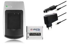 Chargeur+Batterie NP-BG1/FG1 pour Sony Cyber-Shot DSC-W290, W300, WX1