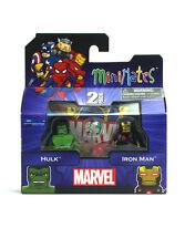 Marvel Minimates Hulk & Iron Man TRU Series 16 Toys-R-Us New In Box Avengers