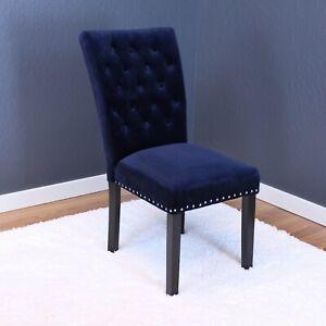 Markelo Velvet Dining Chairs (Set of 2)
