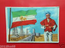 figurines cromos card figurine sidam gli stati del mondo 36 iran flags bandiere