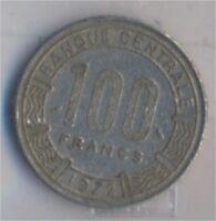 Kongo (Brazzaville) 1 1972 sehr schön Nickel 1972 100 Francs Antilope (9157950