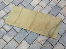 British Army 85x35cm Heavy Duty Hessian Sandbags Sacks Flood Defence Sand Bags