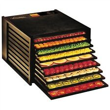 Excalibur Dehydrator #2900ECB 9 tray Economy 15 SF of Drying Area 600 Watts