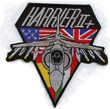 USAF - GERMAN AIR FORCE - ROYAL AIR FORCE - ITALIAN AF HARRIER II (AV8B) PATCH
