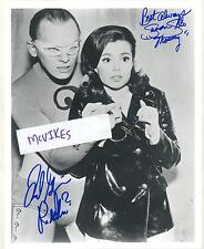 Frank Gorshin Riddler Susan Silo Mousey Batman Autographed 8x10 Photo #1 COA