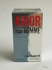 Amor Pour Homme Cacharel Eau de Toilette EDT for Men 1.35 oz