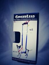 GingerLead Dog Support  Rehabilitation Harness - Mini Sling for Smaller Breeds -