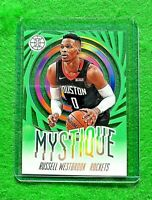 RUSSELL WESTBROOK MYSTIQUE GREEN HOUSTON ROCKETS 2019-20 ILLUSIONS BASKETBALL