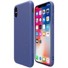 Apple iPhone X 10 NILLKIN TPU Case ETON Series Hybrid Schutz Cover Hülle Blau