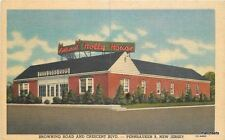 1959 Holly House Restaurant Pennsauken New Jersey Teich postcard 434