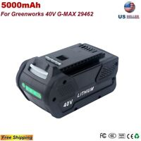 New 5.0 Ah Li-ion Battery For Greenworks 40V G-MAX Cordless tools 29462 29472 US