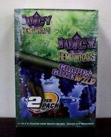 Juicy Jay's Hemp Wraps Grapes Gone Wild 25 Packs - 2 Wraps per pack Sealed