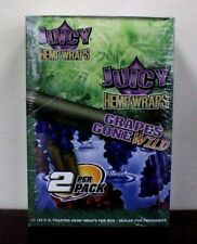 Juicy Jay's Hemp Wraps Grapes Gone Wild 25 Packs - 2 Wraps per pack Sealed