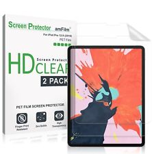 "iPad Pro 12.9"" (2018) amFilm Premium HD Clear PET Screen Protector (2 Pack)"