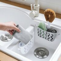 Sink Basket Kitchen Storage Rack Suction Cup Holder Soap Sponges Caddy Organizer