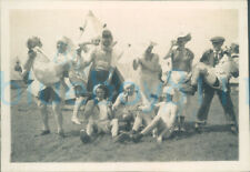 More details for 1930s london rifle brigade soldier fancy dress drinking party 3x2