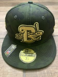 NEW ERA Daytona Tortugas 59FIFTY size 7 1/4 Armed Forces Day cap hat MiLB