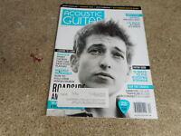 APRIL 2014 ACOUSTIC GUITAR vintage music magazine BOB DYLAN