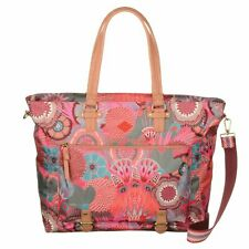 NWT Oilily Carry All Shoulder Bag Women Color Raspberry