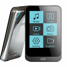 WORKING BLACK COBY MP820-4G MP3 MP4 4GB SMALL MEDIA PLAYER MUSIC VIDEO RADIO &+