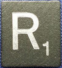 Single Scrabble Diamond Anniversary Wood Letter R Tile Replacement Game Part