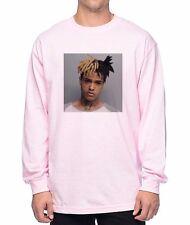 Xxxtentacion Mugshot Longsleeve T-Shirt (Pink)