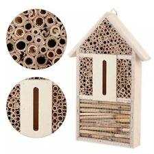 Maison en bois pour insectes, abri pour abeilles, hôtel insectes