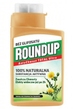 ROUNDUP 280ML 100% NATURAL NO GLIFOSAT ANTI WEED TOTAL HOBBY CONCENTRATE -120M/2