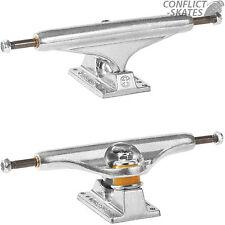 "INDEPENDENT 169 Stage 11 Raw Skateboard Trucks Polished 9.125"" Pool Vert Street"
