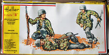 HELLER maquette diorama 1/35.allemagne parachutistes german.référence 117.