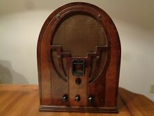 Philco Model 60B Cathedral Radio - Serviced and working