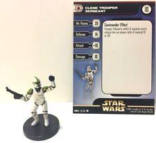 Star Wars Clone Strike 10/60 Clone Trooper Sergeant (C) Miniature