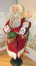 BYERS CHOICE Exclusive Christmas Tree Hill Folk Art Santa 2003   *