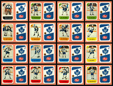 1982-83 Post Cereal Toronto Maple Leafs Salming NHL Hockey Mini Card Set of 16