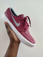 Nike SB Stefan Janoski Zoom RM Premium Men Rush Maroon Grey Lifestyle UK 8 US 9