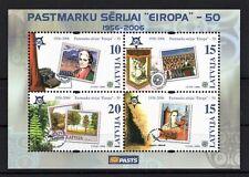 LATVIA 2006 LATVIJA - PASTMARKU SERIJAI EIROPA 50 - BLOCK - 100 SHEETS MNH** S
