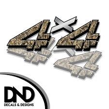 4x4 Decals 2 Pk Sticker for Chevy Silverado Sierra truck Highgrass Duck D&11 8in