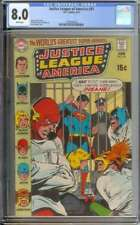 JUSTICE LEAGUE OF AMERICA #81 CGC 8.0 WHITE PAGES