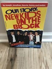 Our Story: New Kids on the Block Paperback Book Official Autobiography, 1990