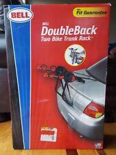 Bell Double Back Two-Bike Trunk Rack Car Cradle Biking Travel **NEW IN BOX**