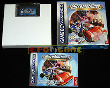 MICROMACHINES Gameboy Advance Micro Machines Versione Italiana ••••• CARTUCCIA