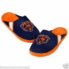 Chicago Bears Team Jersey Indoor/Outdoor Slippers ~ Size Large (11-12)