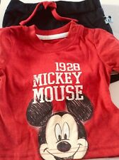 Brand new baby boys Mickey Mouse 2 piece set,  age 3-6 months