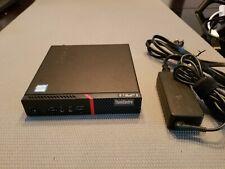 LENOVO M900 TINY - i5-6500T 2.5GHz - 8 GB RAM - 256GB SSD - W10 PRO ACTIVATED