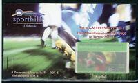 Bund Sport Markenheftchen 2003 mit MiNr. 2327 postfrisch MNH Fußball (E556