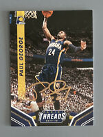 Paul George Indiana Pacers signed autographed basketball card