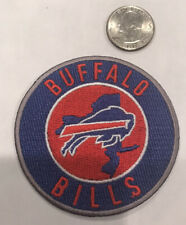 """Buffalo Bills CLASSIC vintage embroidered iron on  patch 3""""x3"""" NICE"""