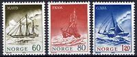 Norway 1972, Polar Exploration Ships MNH Sc 596-98